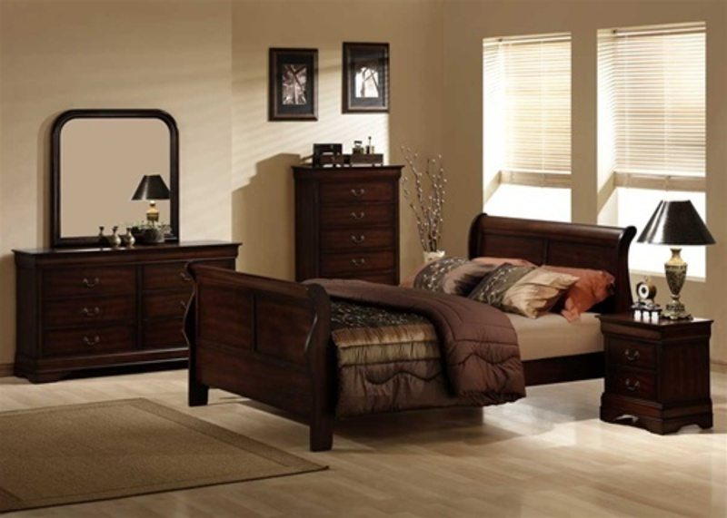 brown bedroom set design color setting sample designs