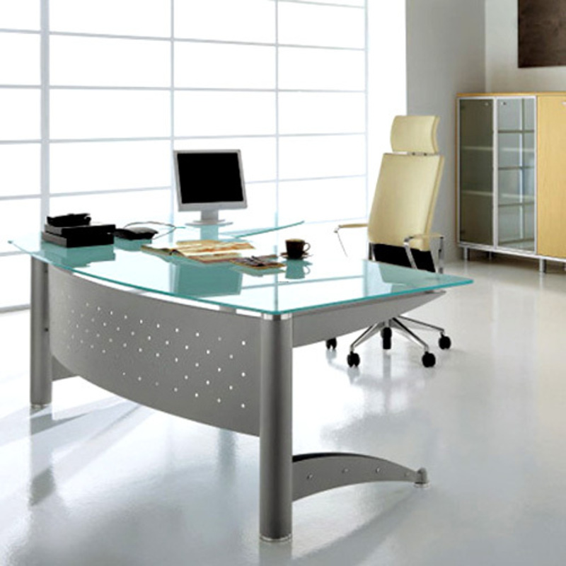 Modern office furniture modern house for Modern home office furniture