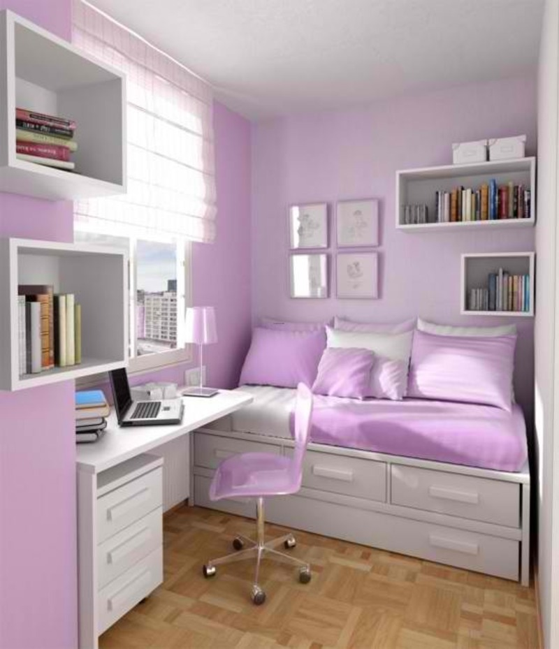 Modern Teenage Bedroom Layout Ideas By Sergi / design ...