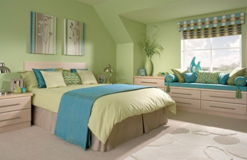 12 Green Bedroom Ideas For Inspiration / Design Bookmark #4719