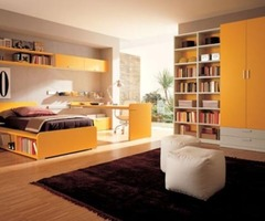 Collection of Modern and Minimalist Teenage Room Design Ideas by Zalf