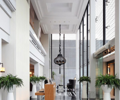 Modern Interior Design Erha Clinic in Surabaya by HMP Architects