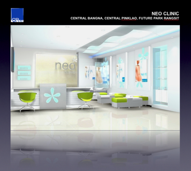 Interior Design Of Clinic, Bangkok Real Estate Services : Neo Clinic