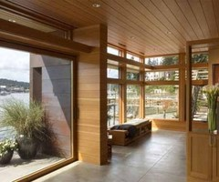 Modern Boat House, Cliff House by OSKA architecture