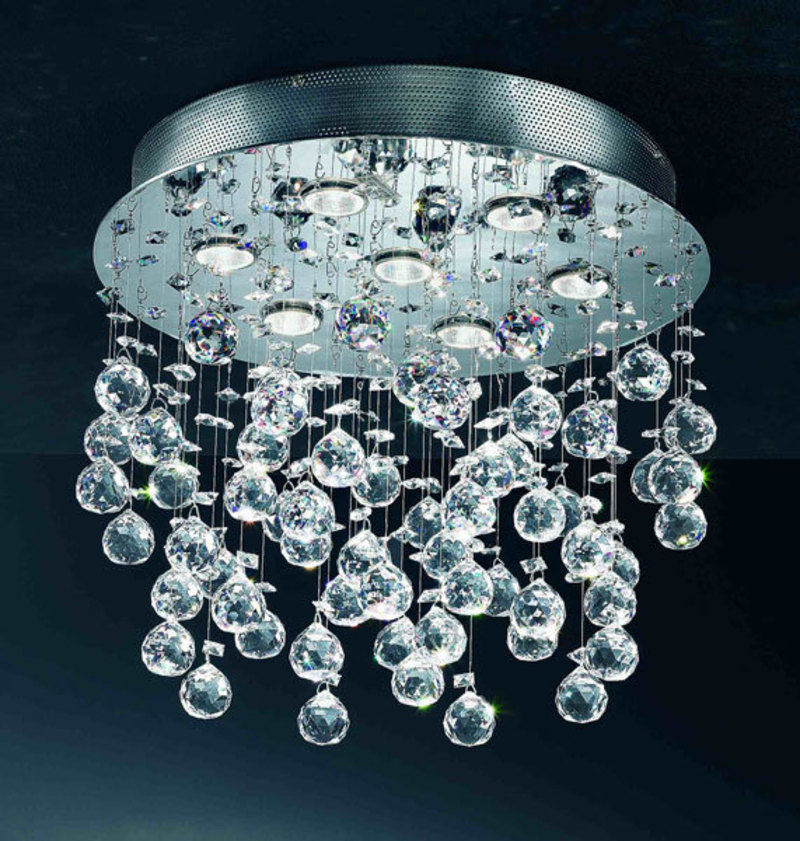 Modern Luxury Crystal Lighting Fixtures Design Bookmark 4810