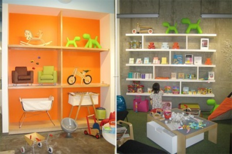 kids furniture retail store interior ideas by de forest
