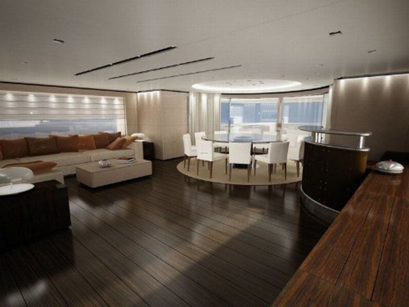 Boat Interior Design, Interior Design for Yachts and Large Boats
