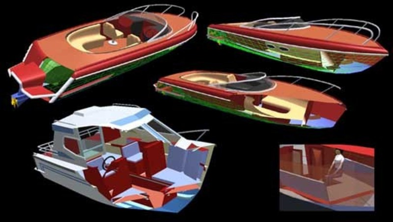 Boat Interior Design, Boat Interior Design Software