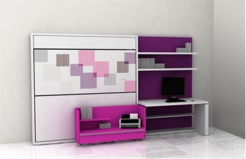 Teen Room Design Ideas, Teen Room Furniture For Small Kids Bedroom by Clei