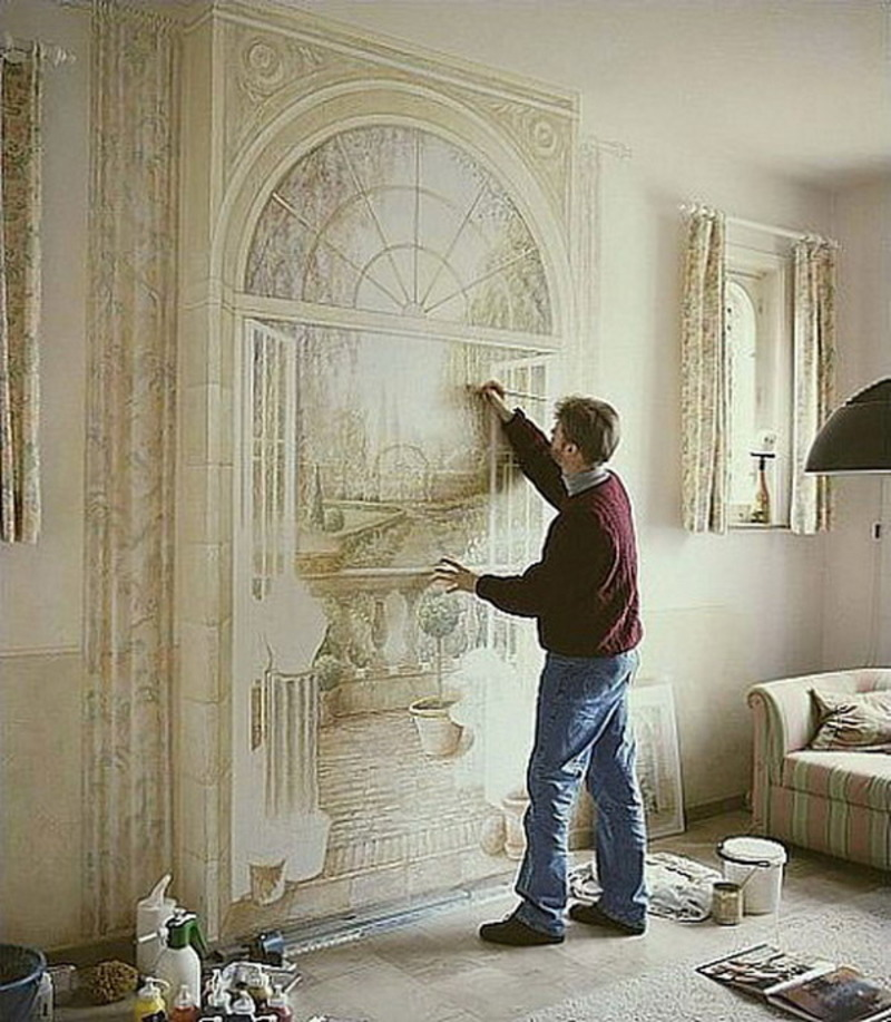 Fabulous Wall Painting Ideas for Living Room 800 x 917 · 188 kB · jpeg