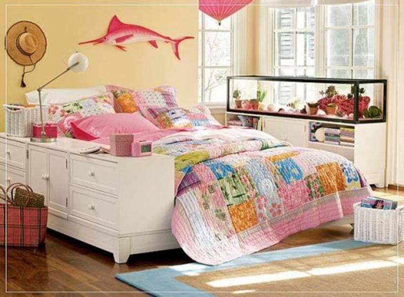 Teen girls room decorating ideas bedroom interior design for Cute teen bedroom designs