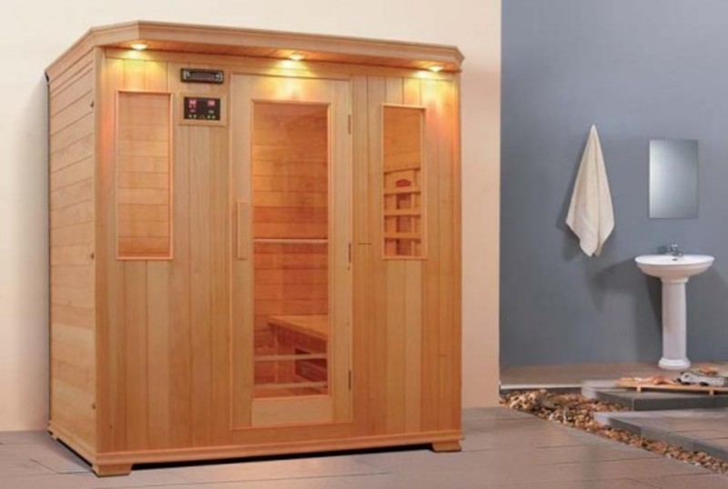 Infrared Sauna Room Design For Modern Home Health Therapy