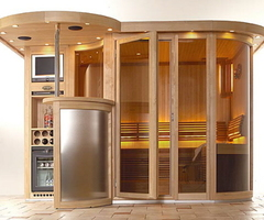 Ideas for sauna designs