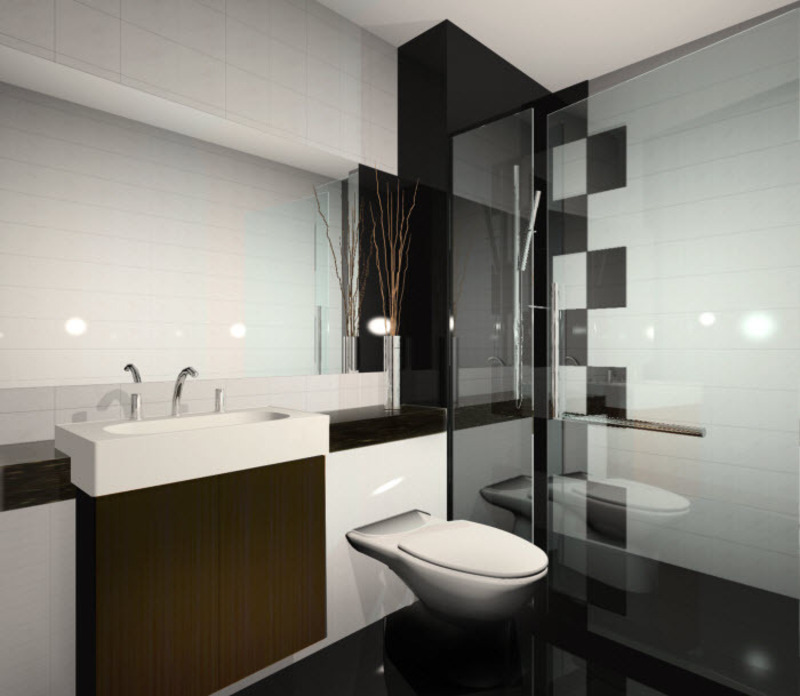 Modern condo bathroom design design bookmark 5014 for Condo bathroom designs