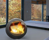 Luxury Design Ideas Modern Mobile Fireplace Ideas 