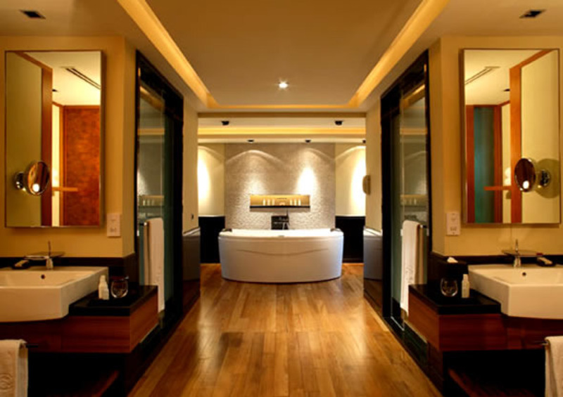 spa design bathroom luxury hotel rooms interior design sentosa resor