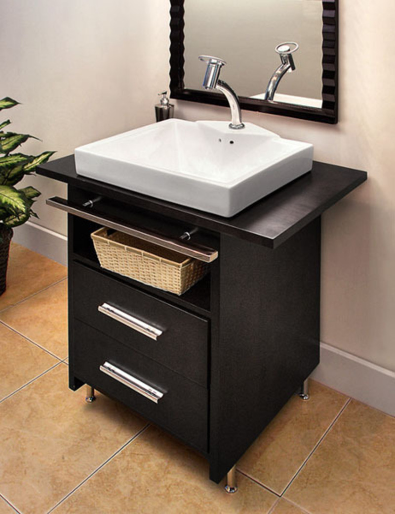 Small modern bathroom vanity ideas bathroom vanities decorative wall mirrors design for Compact sinks for small bathrooms