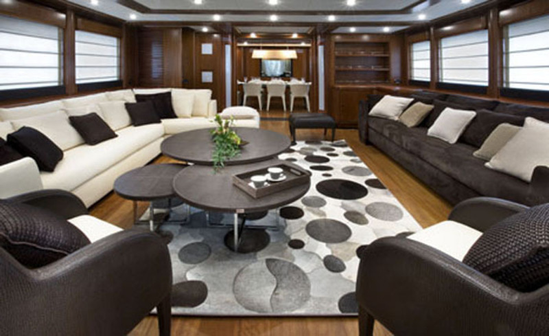 The Best Example Luxury Yacht Charter Interior Design