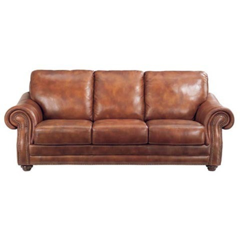 Living room furniture sofa and couch styles for Traditional leather furniture