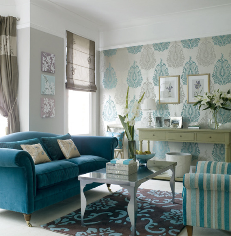 Amazing Blue And Brown Room Designs On Blue And Brown Living Room Blue Living Room  Photos Sample