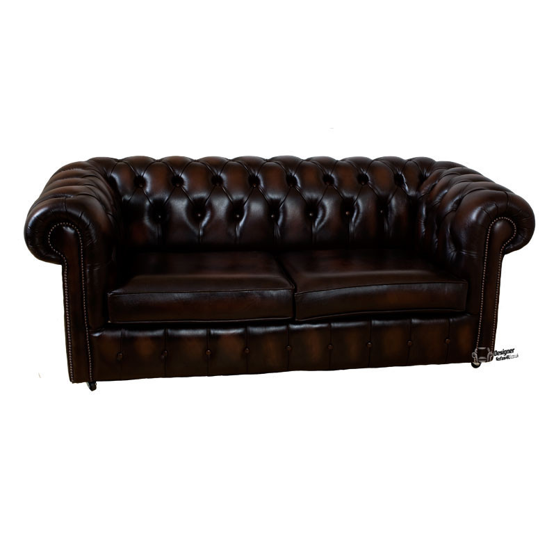Classic Leather Sofa, Chesterfield Leather Sofa, UK Manufactured, Leather Sofas, Traditional Sofas