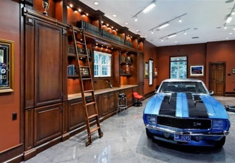 Super garage design inpirations for super car design for Garage interior