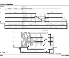 shopping center architecture project plan 