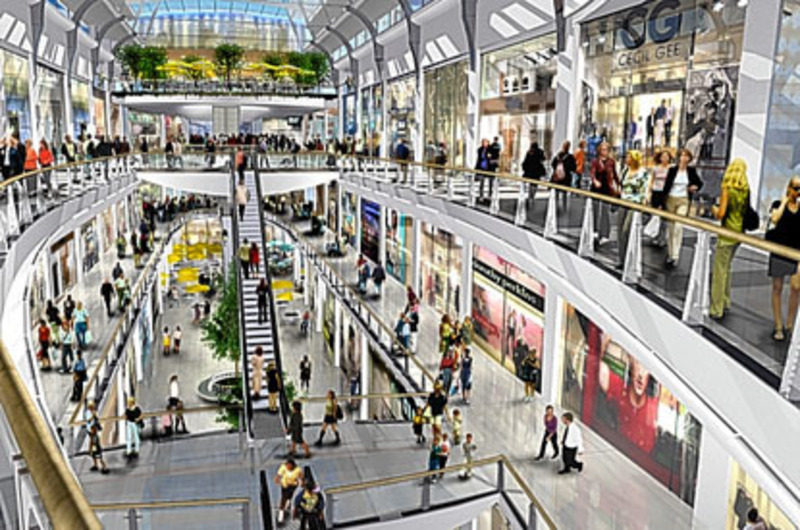 Shopping Mall Plans, London's 'third city' at a planning crossroads