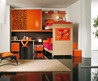 orange bridge wardrobe funiture themes