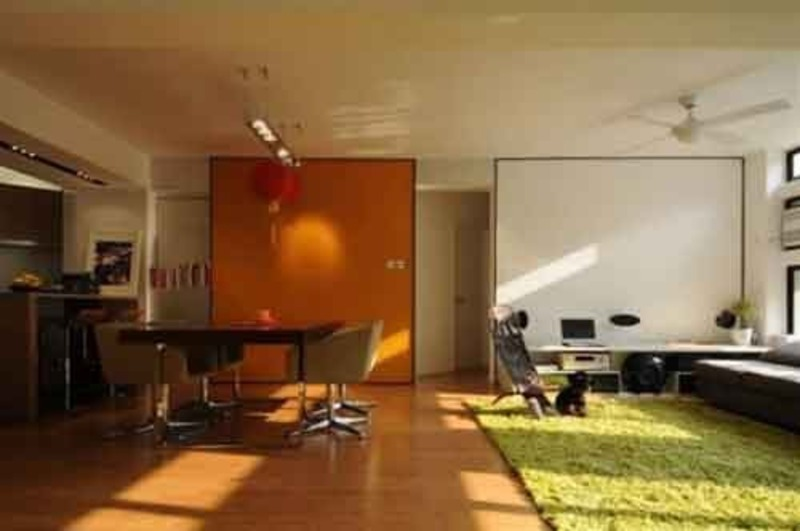 Living room paint ideas with orange wall painting - Orange living room paint ideas ...