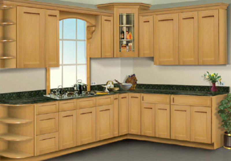 Refinishing Maple Kitchen Cabinets