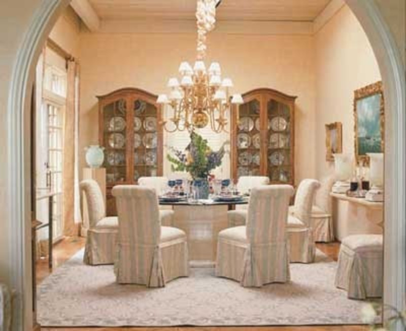 Tlc home dining room decorating idea traditional and for Formal dining room design