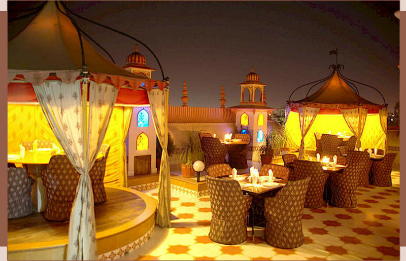 Top Roof Restaurant, Jaipur restaurant, Jaipur lounge bar, Jaipur roof top restaurant