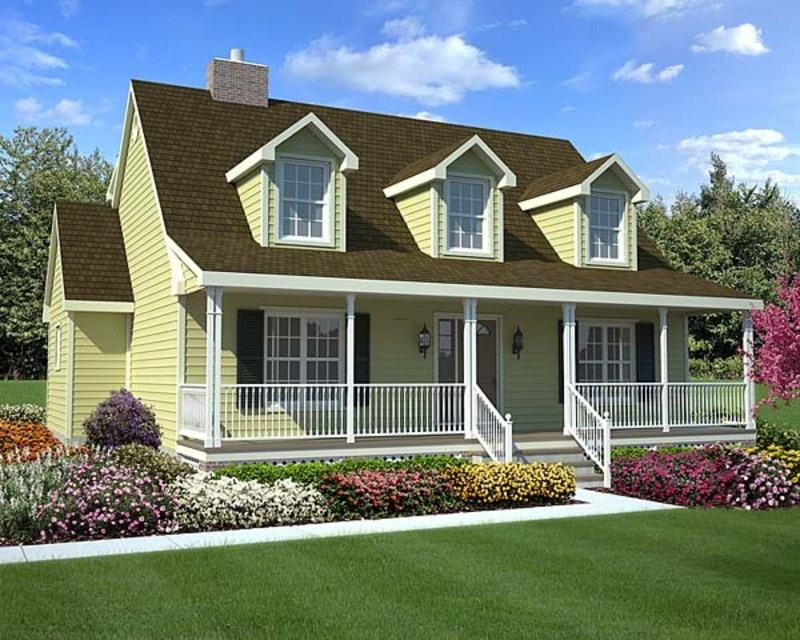 Exterior painting tips for your cape cod home xpert for Simple cape cod floor plans