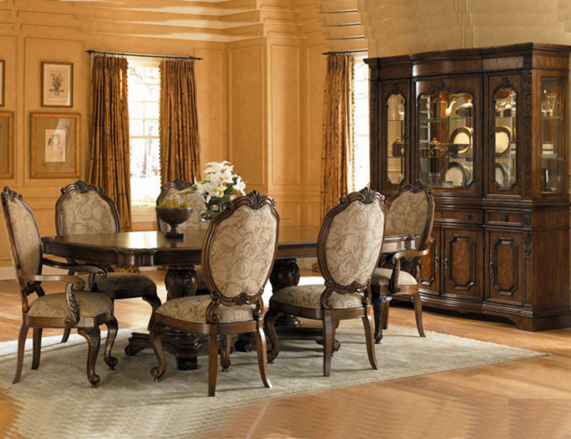 Coolly Modern Formal Dining Room Sets To Consider Getting: Traditional Dining Room Furniture / Design Bookmark #5631