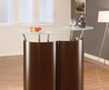 Elegant Mahogany Modern Home Bar 777 by Global Furniture