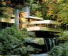 Fallingwater pictures: fall photo (Frank Lloyd Wright house above waterfall)