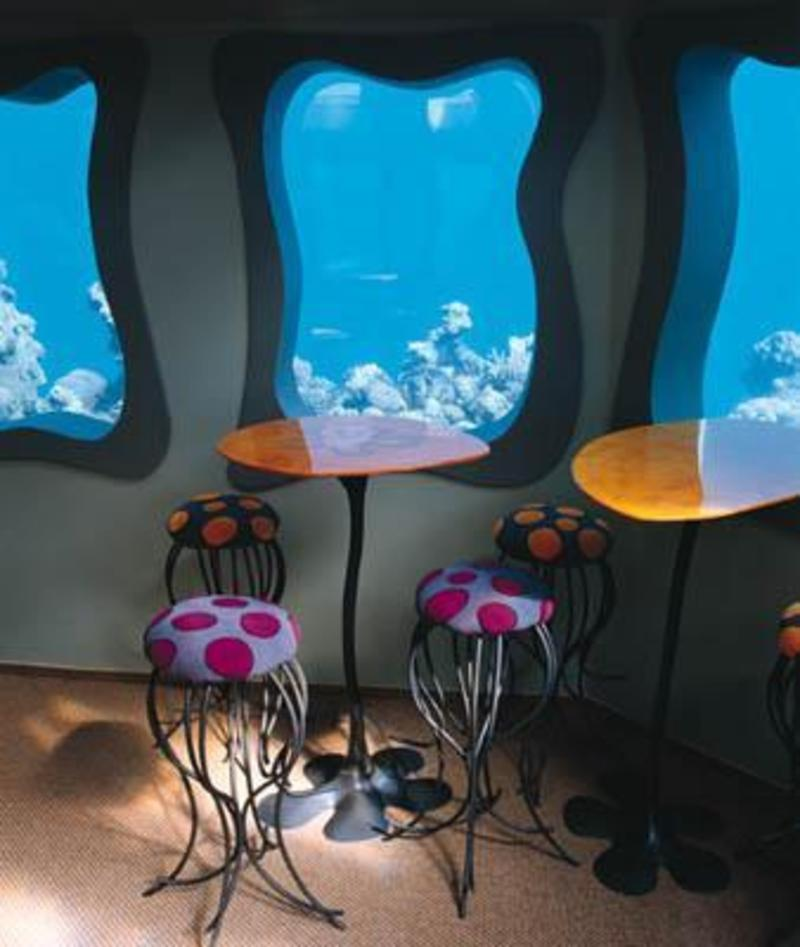 Underwater Restaurant, The Red Sea Star Restaurant at Wayfaring Travel Guide