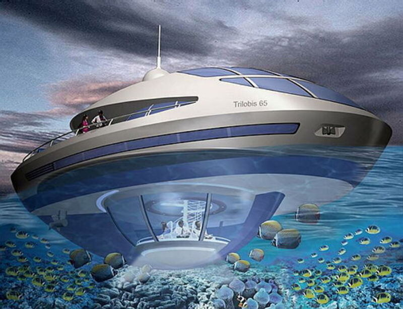 Cool Stuff: Underwater House Pics In Future / design bookmark #5663