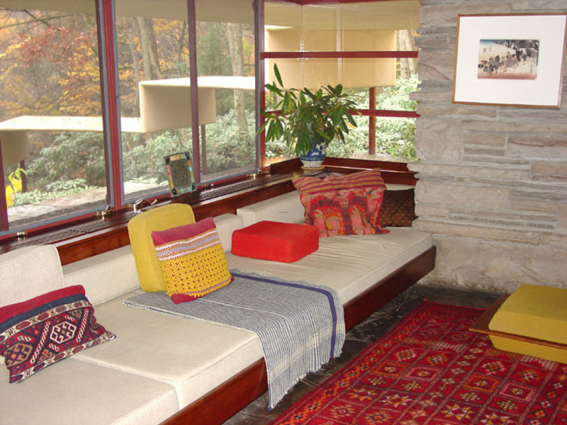 Guest House At Fallingwater A Frank Lloyd Wright Designed