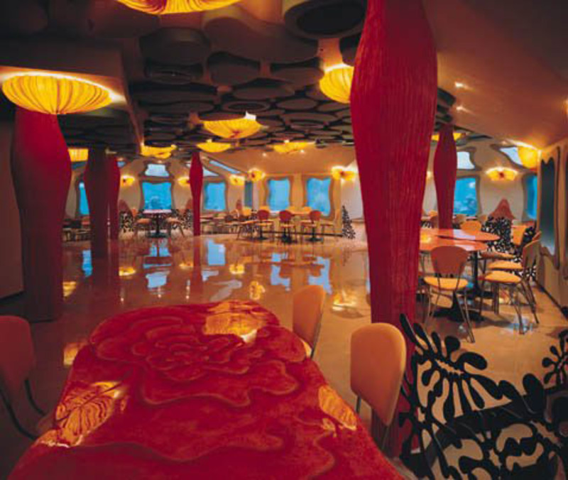 Underwater Restaurant, Cool and Luxurious Underwater Restaurant Interior /  Home Trends