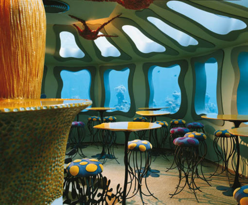 Underwater Restaurant, The World's First Underwater Restaurant in Red Sea