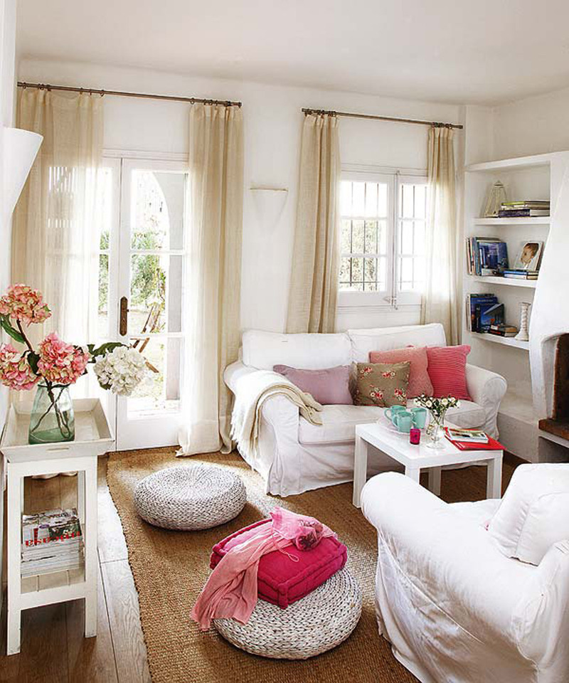 Home Design Color Ideas: Fancy Summer House Decorating Ideas Comfortable Summer