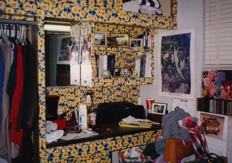 Pretty Dorm Rooms, Deep Fried Kudzu: Dorm Rooms, And How Av And A Bunch Of Other Drunk College Kids Moved A Shanty Into Theirs