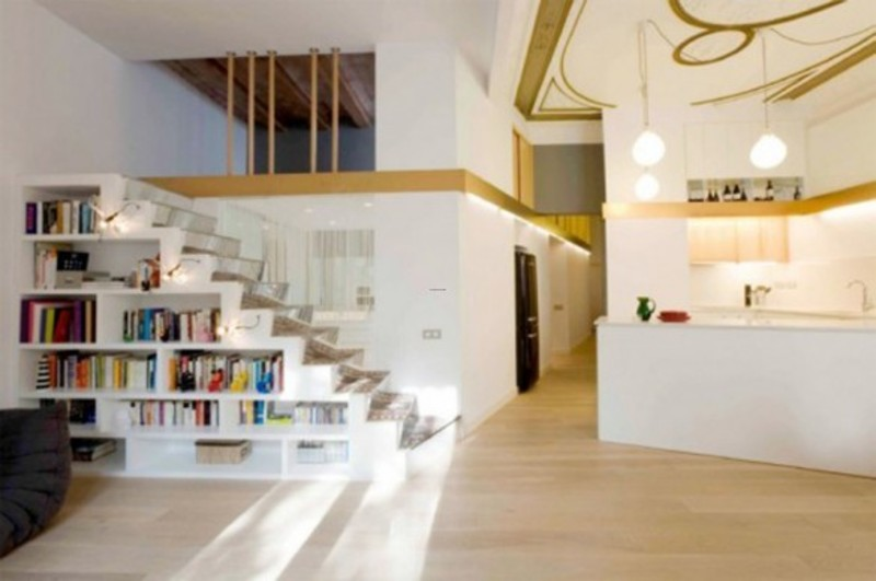 Modern flat decoration designs with clear interior decor for Flat interior designs