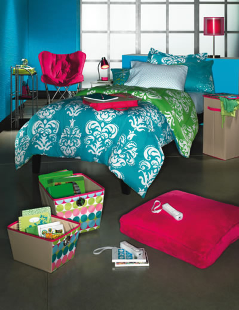 Cool College Dorm Rooms, The Chic Bargainista®: Kohl's Dorm Room Decorations and Back to School Fashions