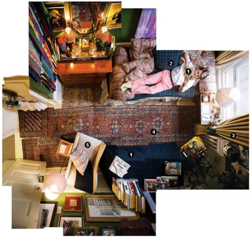Decorating Ideas > Maximilian Sinstedens Dorm Room New York Magazine  ~ 005315_Eclectic Dorm Room Ideas