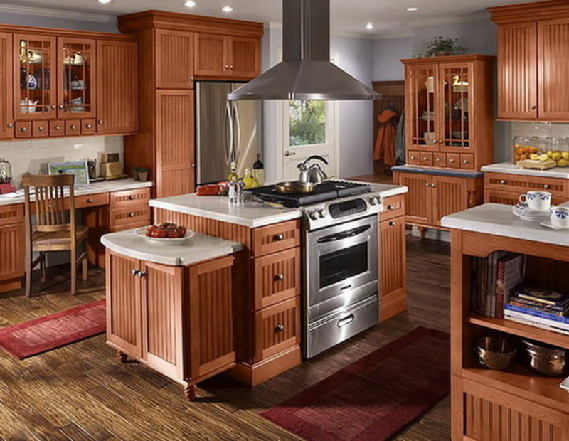 Cuisine am ricaine du cabinet american style kitchen for Cuisine americaine design