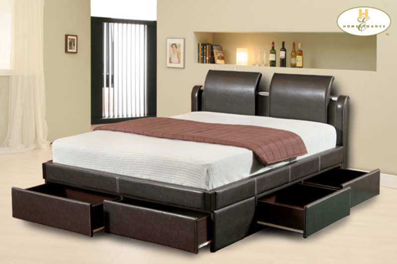 Modern bedroom furniture designs with new models design for Modern bed designs