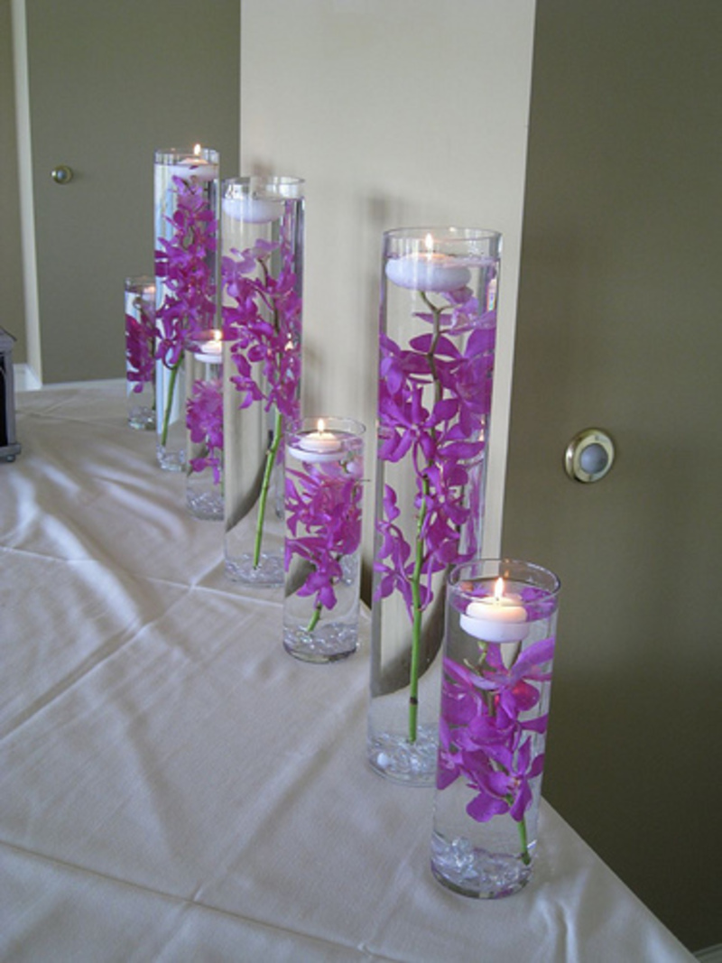 Purple Wedding Decorations, Purple Theme Wedding Decoration